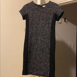J.Crew Wool blend tweed style shift dress - sz 00